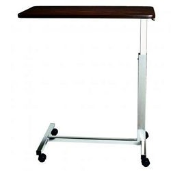 AmFab Over Bed Table, Non-Tilt, Walnut Top